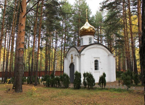 Монастырь во имя Новомученников Российских под Алапаевском