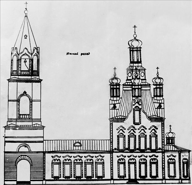 Первоначальный вид алапаевского храма