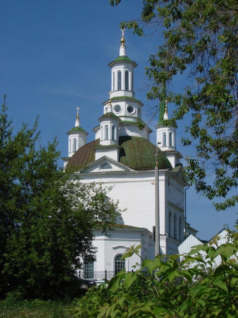 Свято-Троицкий собор в Алапаевске сегодня