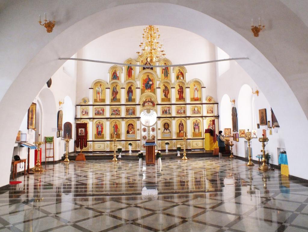 Иконостас Казанской церкви в Арамашево