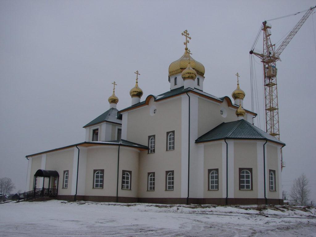 Восстановление Казанской церкви в 2010 году