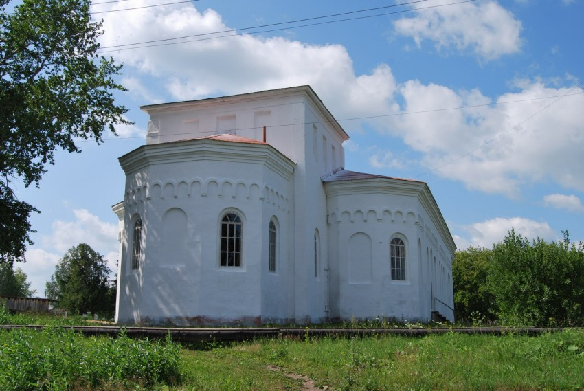 Покровская церковь в селе Байкалово