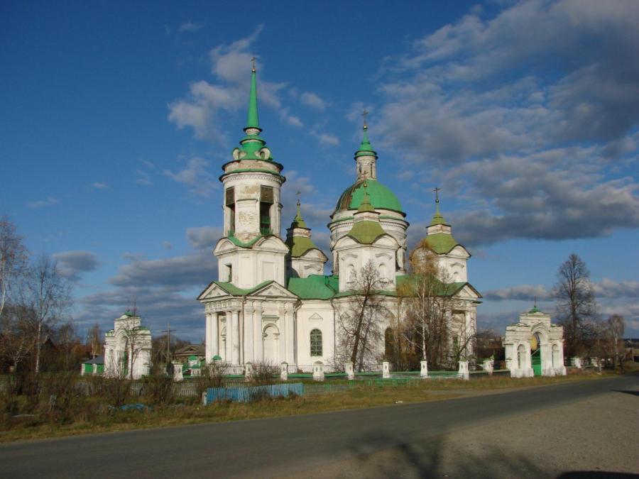 Свято-Николаевский храм в Быньгах