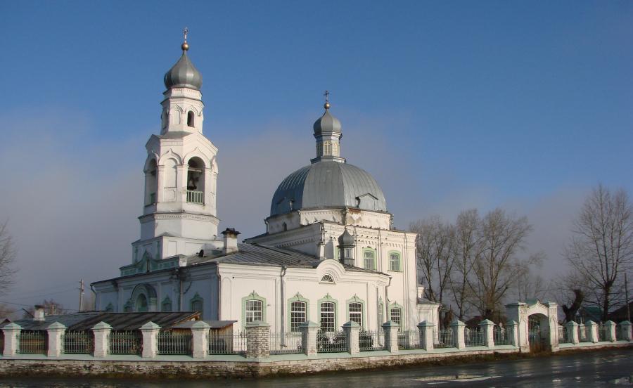 Храм во имя Святителя Николая Чудотворца в селе Николо-Павловское