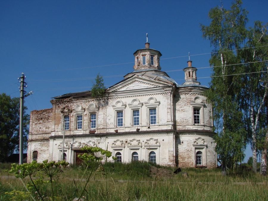 Христорождественская церковь в Дерябино в наши дни