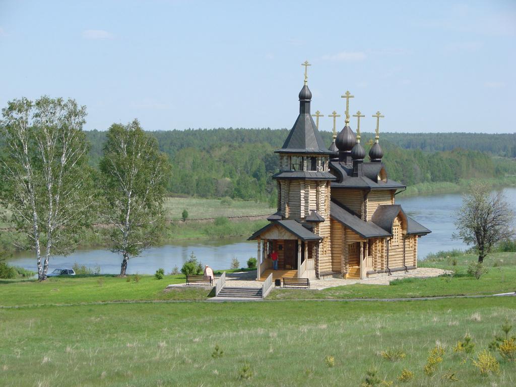 Храм во имя всех Сибирских Святых в земле Российской просиявших