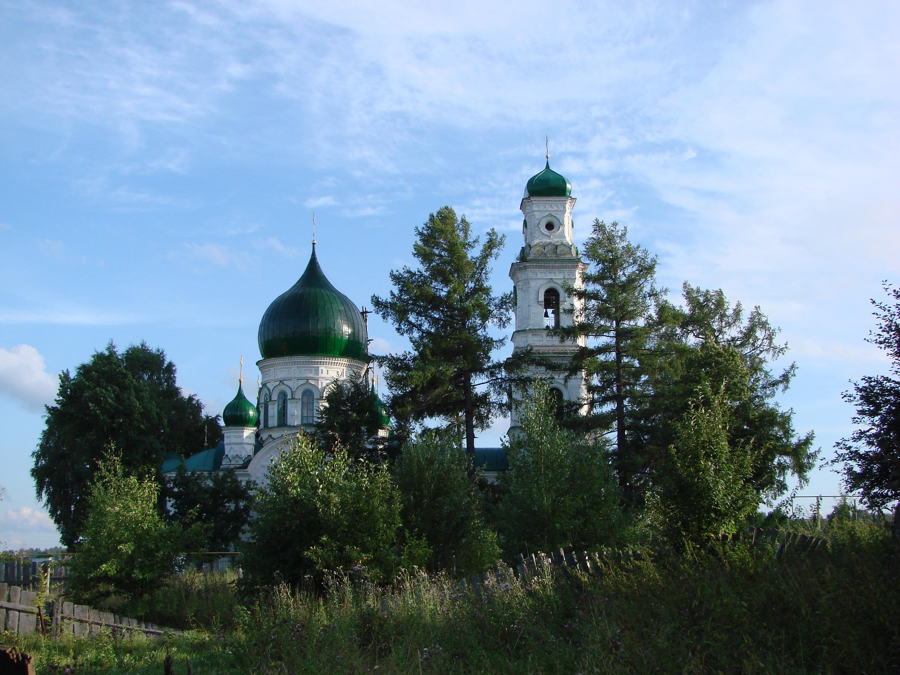 Церковь Михаила Архангела в Кушве
