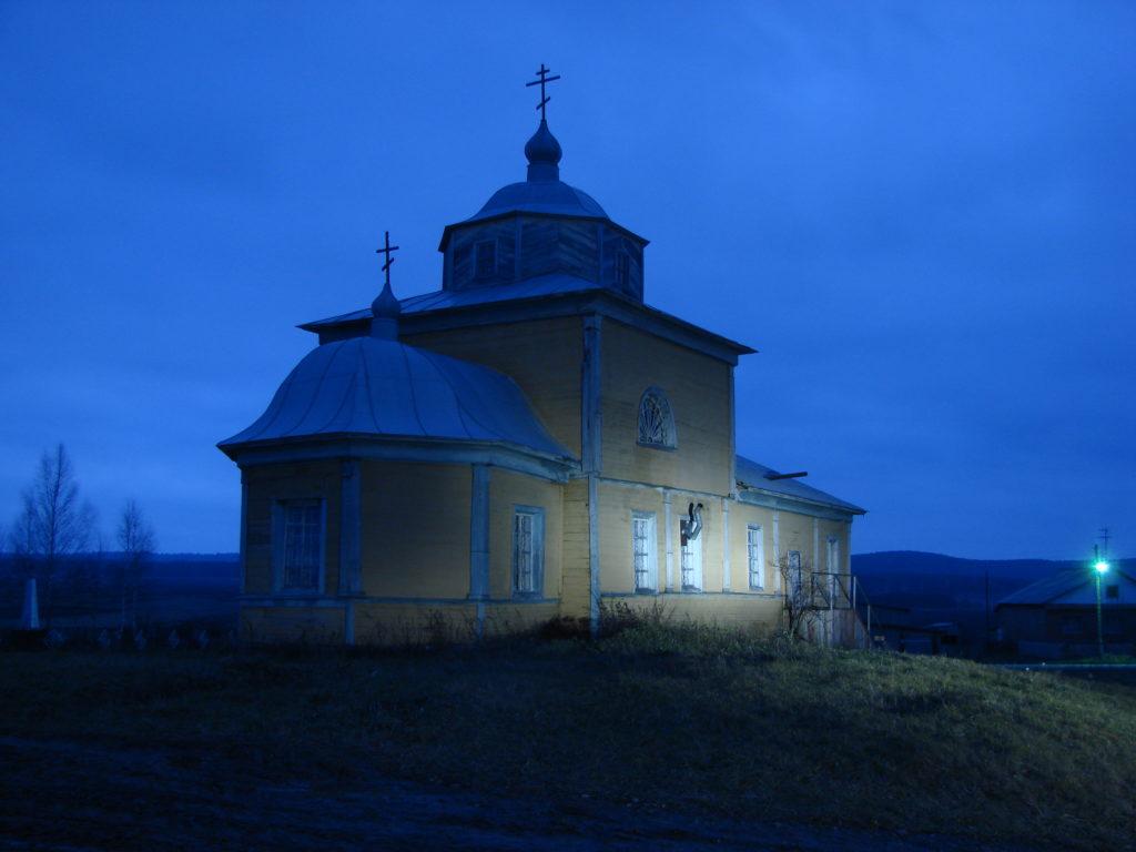Крестовоздвиженская церковь в Новом селе — самый старый деревянный храм на Среднем Урале