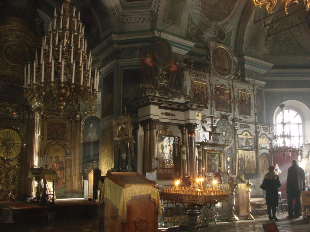 В храме Николая Чудотворца