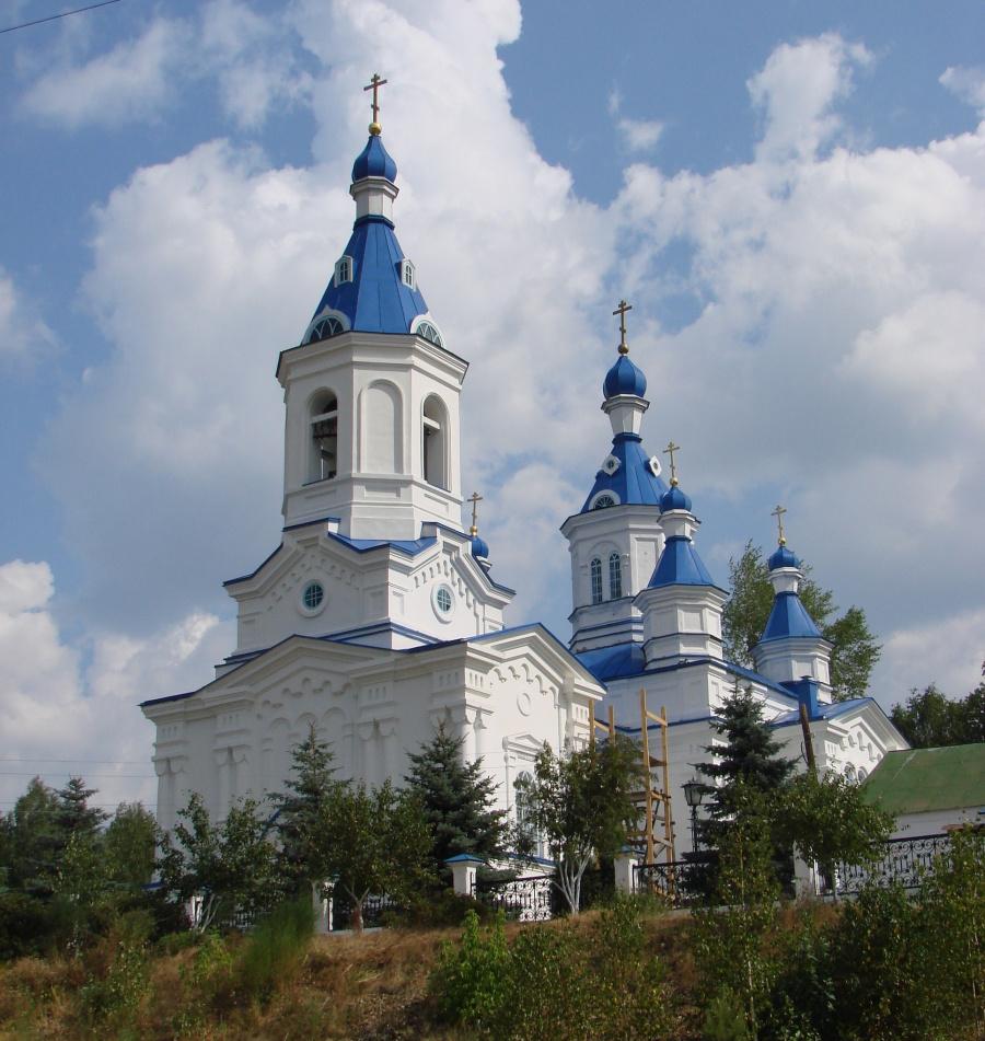 Екатерининская церковь в Алапаевске, где ныне пребывает икона Божией Матери «Скоропослушница»