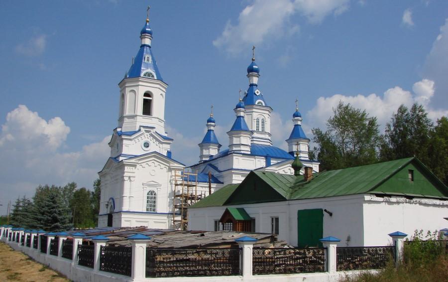 Екатерининская церковь в Алапаевске