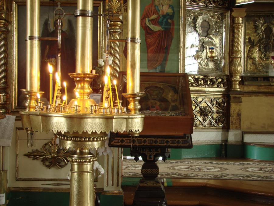 Чудотворный образ Божией Матери в стенах Знаменской церкви