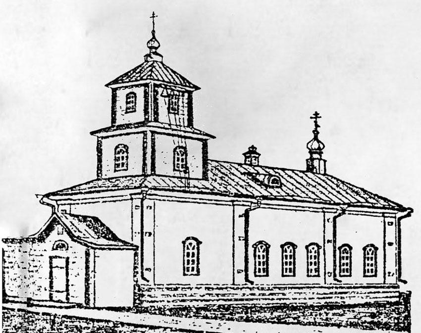 Знаменский храм Кыртомского монастыря