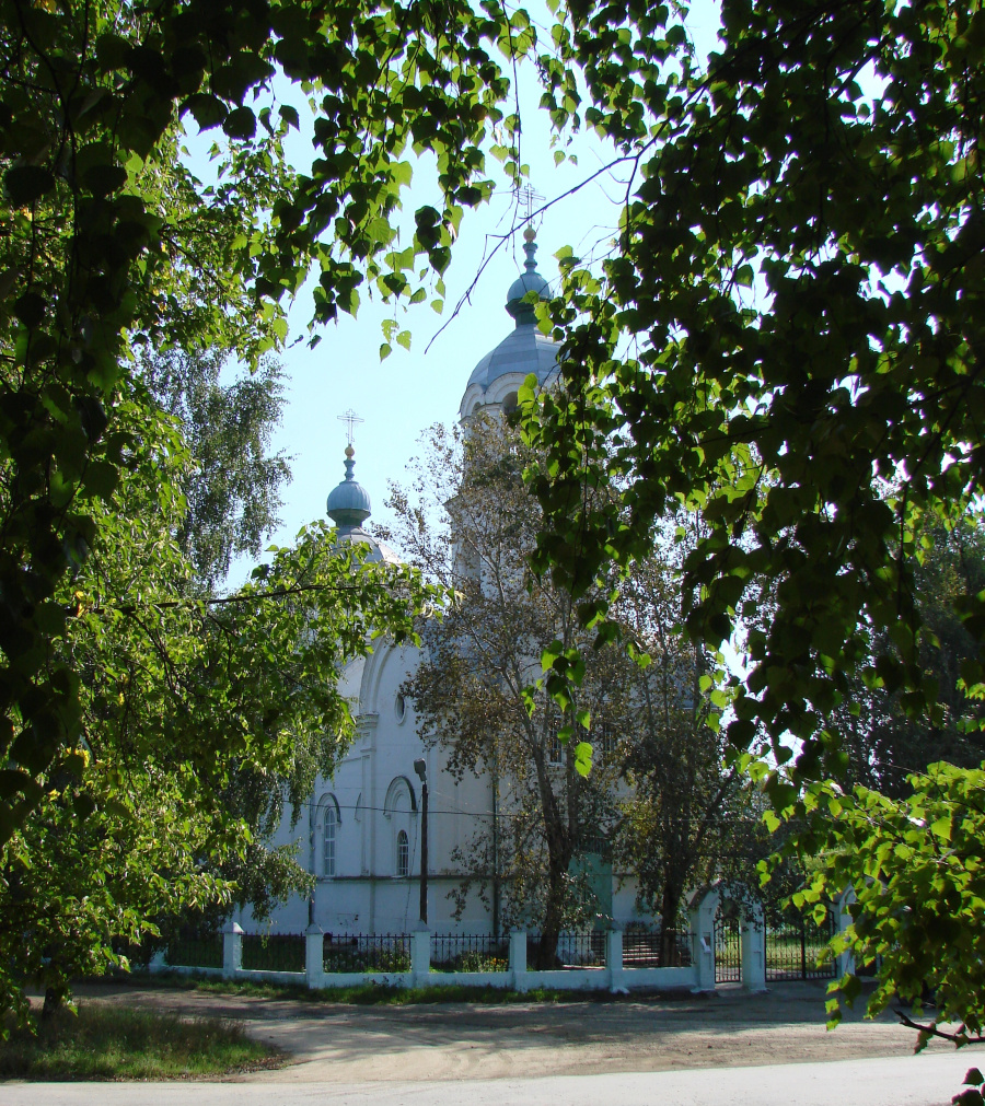 Церковь Марии Магдалины в Большой Лае