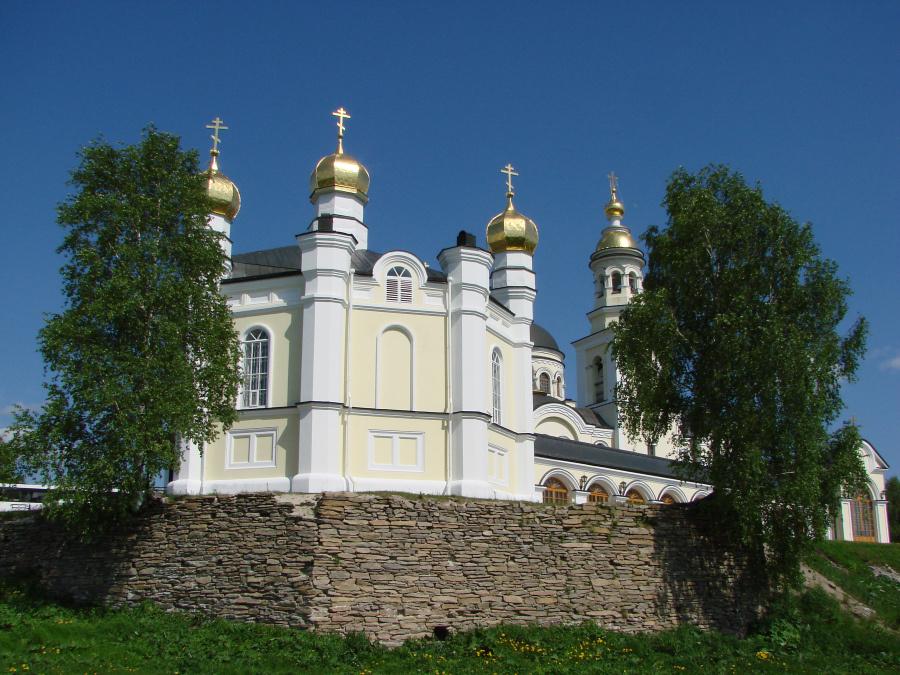 Симеоновская церковь в Меркушино