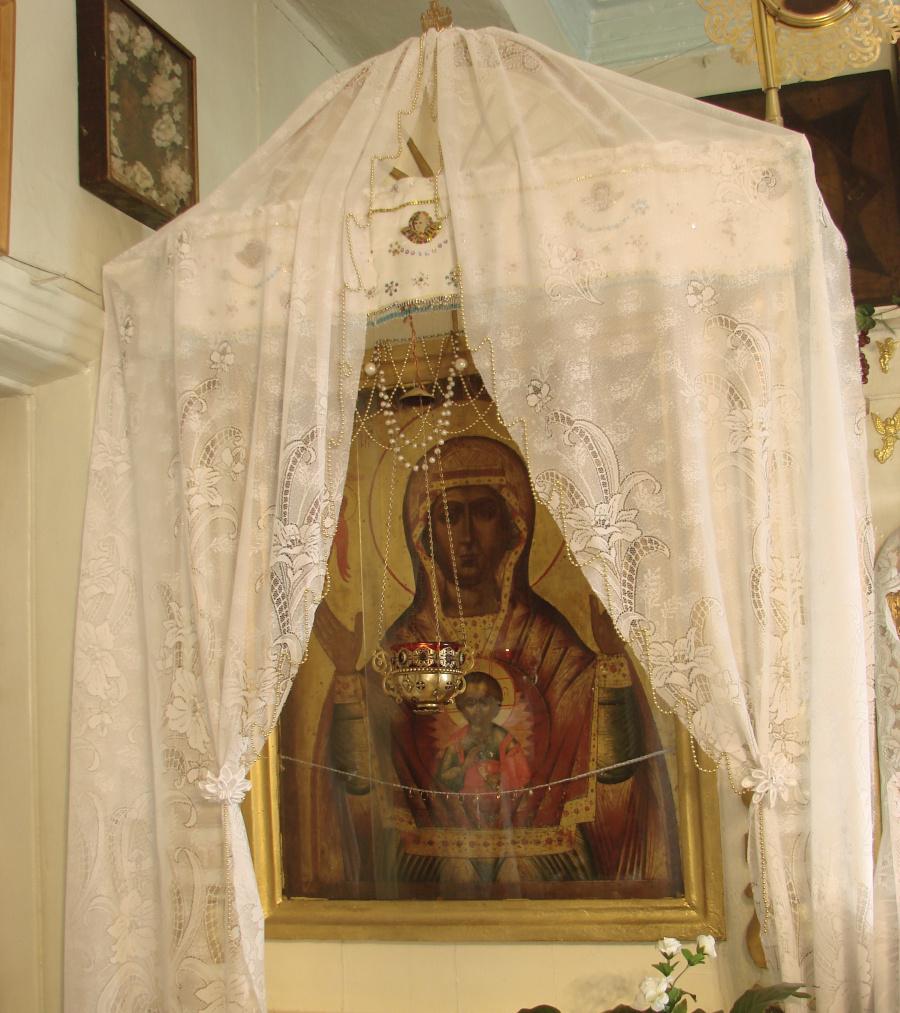 Образ Божией Матери «Знамение», список с верхнетагильской чудотворной иконы