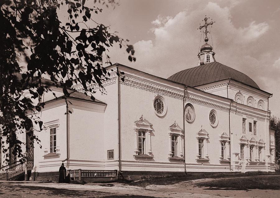 Николаевский храм Свято-Николаевского монастыря в Верхотурье