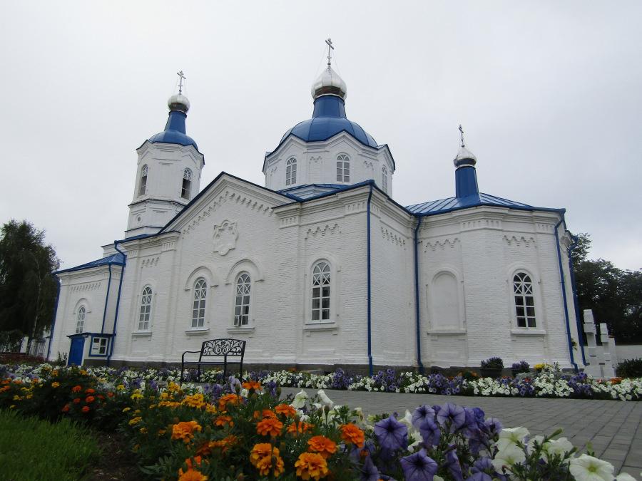 Покровский женский монастырь в Верхотурье: Новая Покровская церковь сегодня