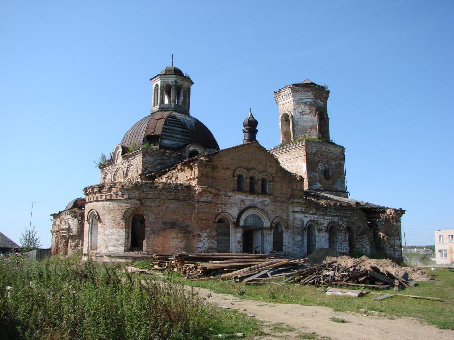 Сретенская церковь в Прокопьевской Салде