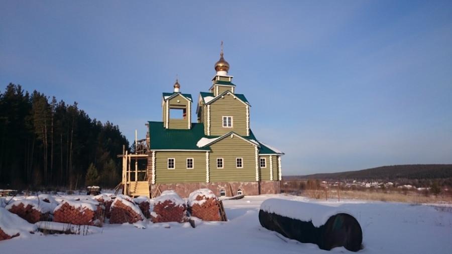 Строительство нового Введенского храма
