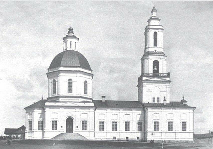 Симеоно-Анненская церковь в Сысерти