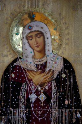 Чудотворная икона Божией Матери «Умиление»