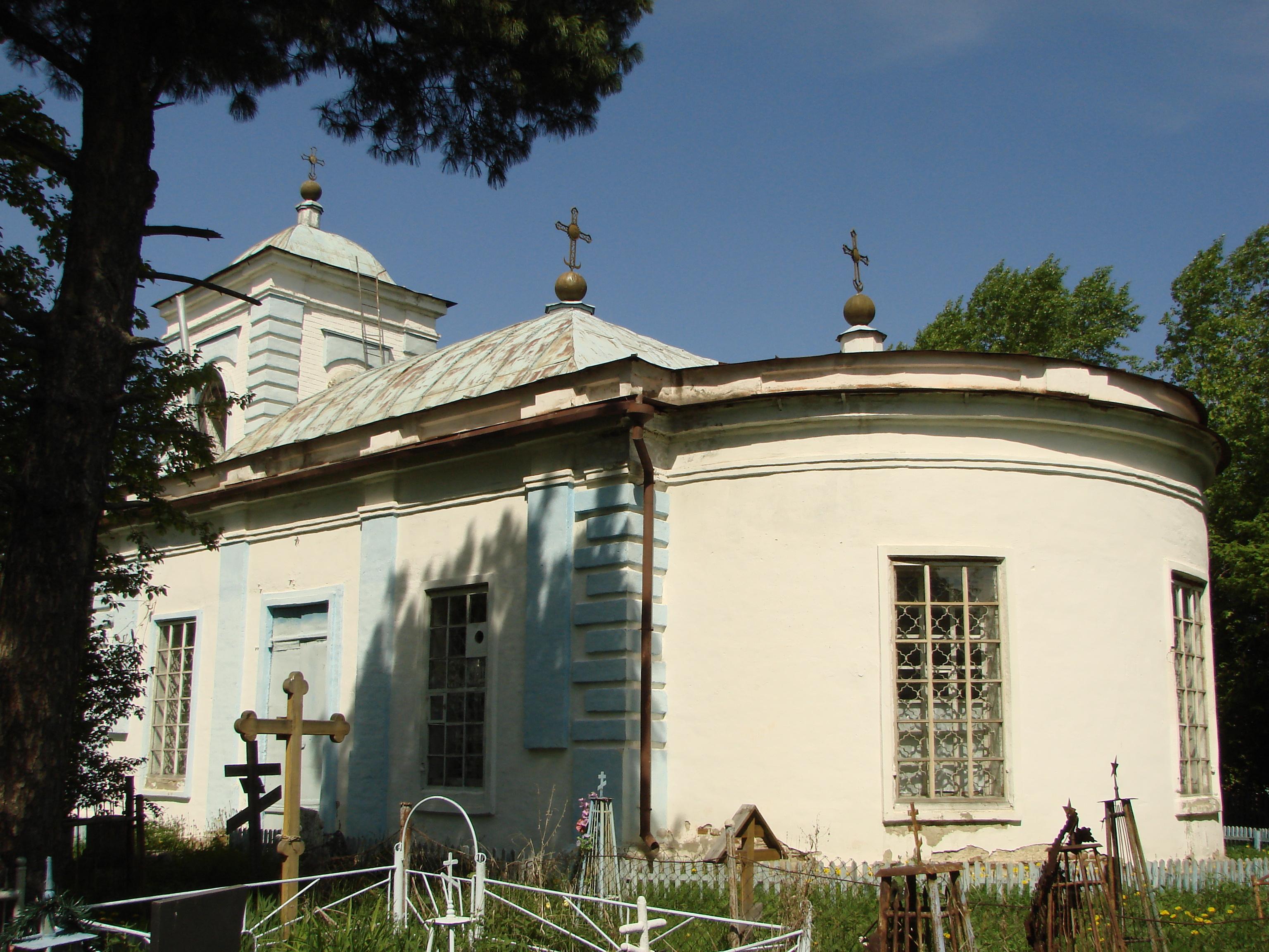 Успенская кладбищенская церковь в Верхотурье