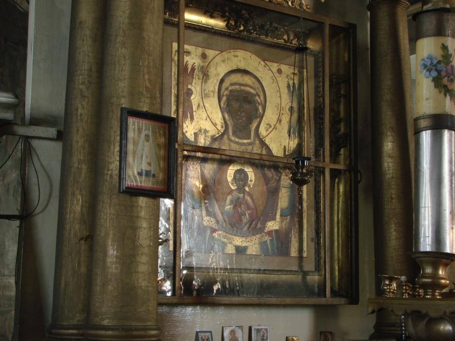 Икона Божией Матери Знамение, список с чудотворного Верхнетагильского образа
