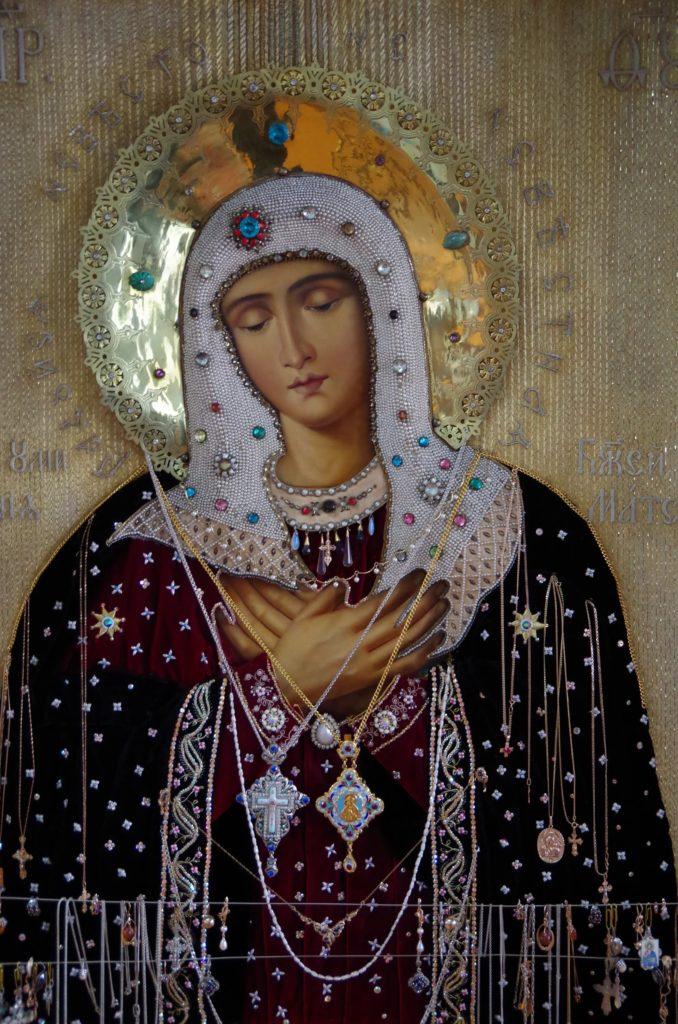 Верхотурский чудотворный образ иконы Божией Матери «Умиление»