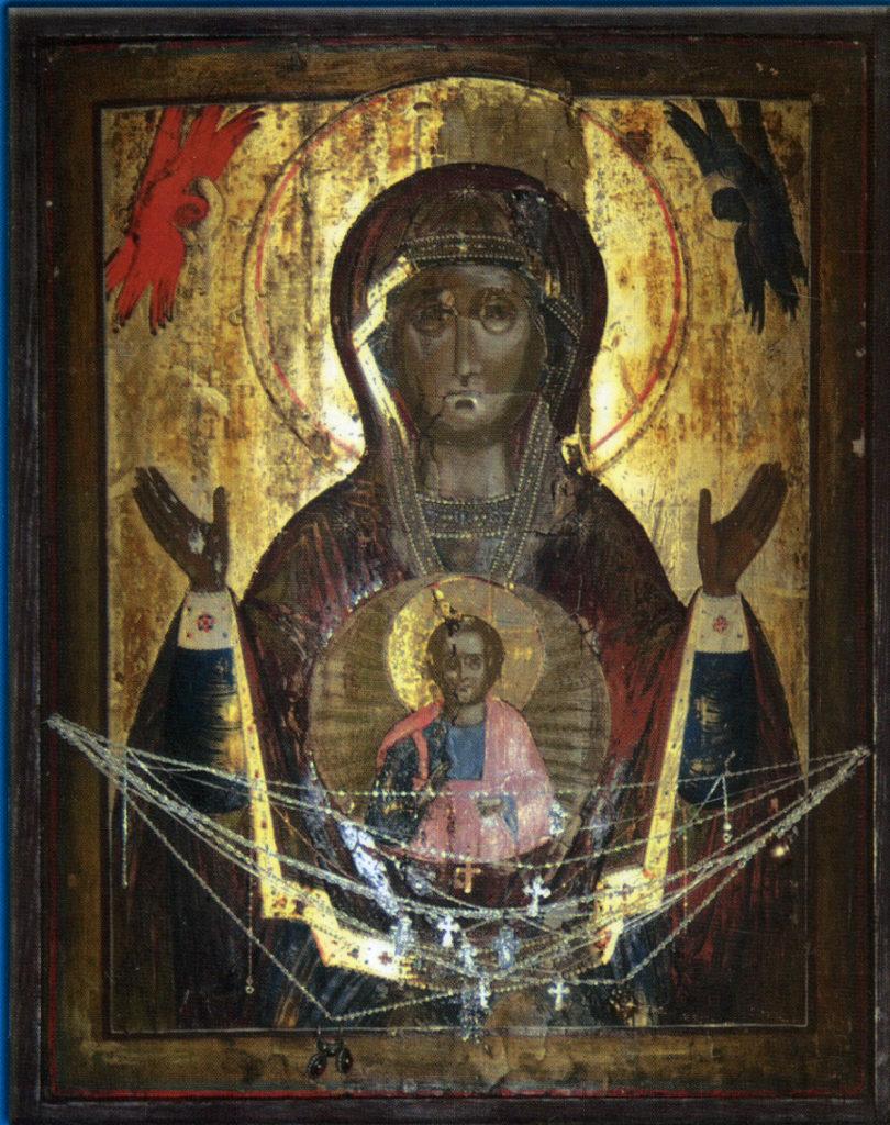 """Икона Божией Матери """"Знамение"""" Верхнетагильская"""