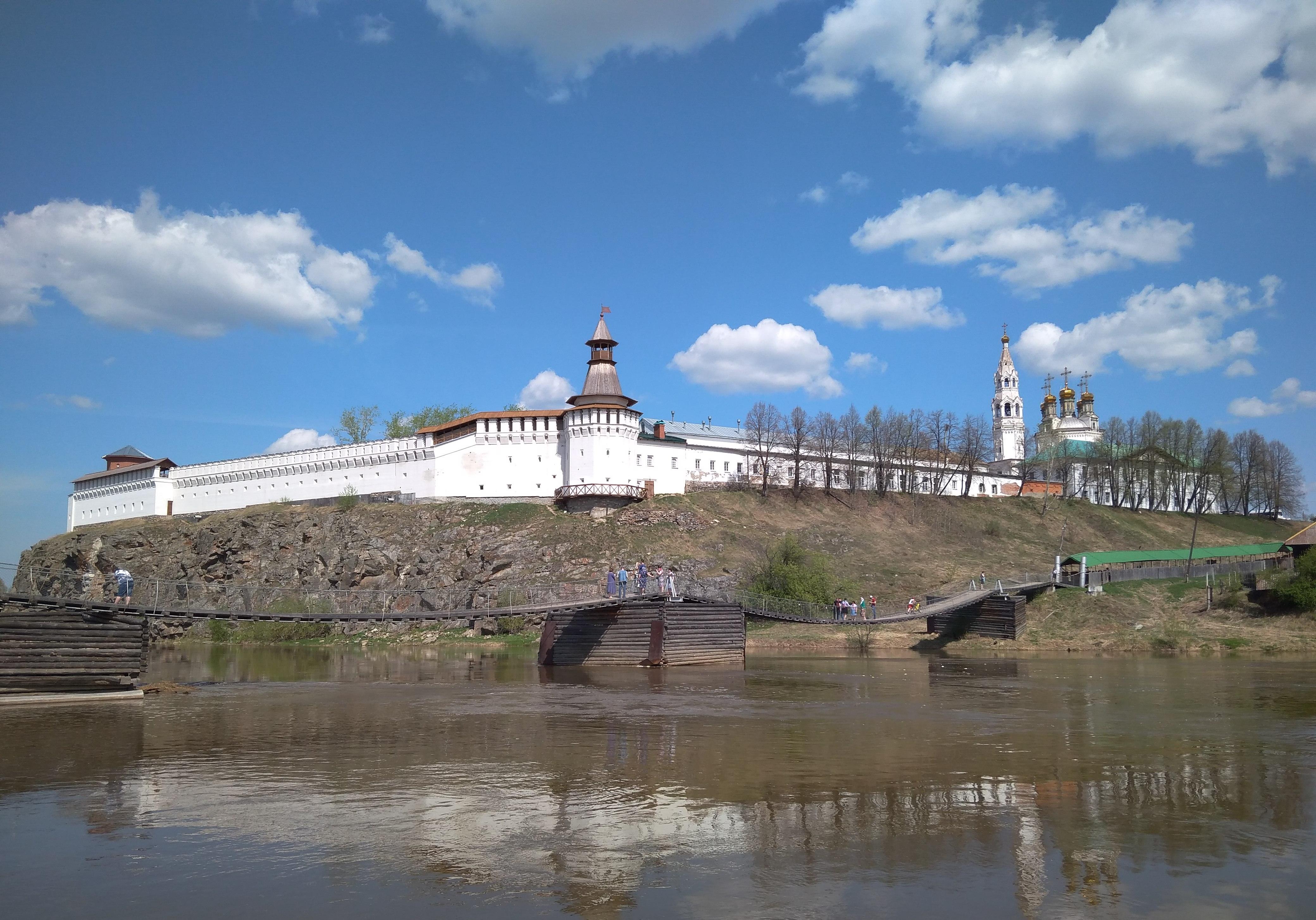 Верхотурский кремль весной 2019 года