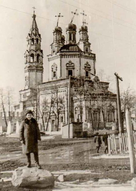Свято-Троицкий собор в Верхотурье в советские годы