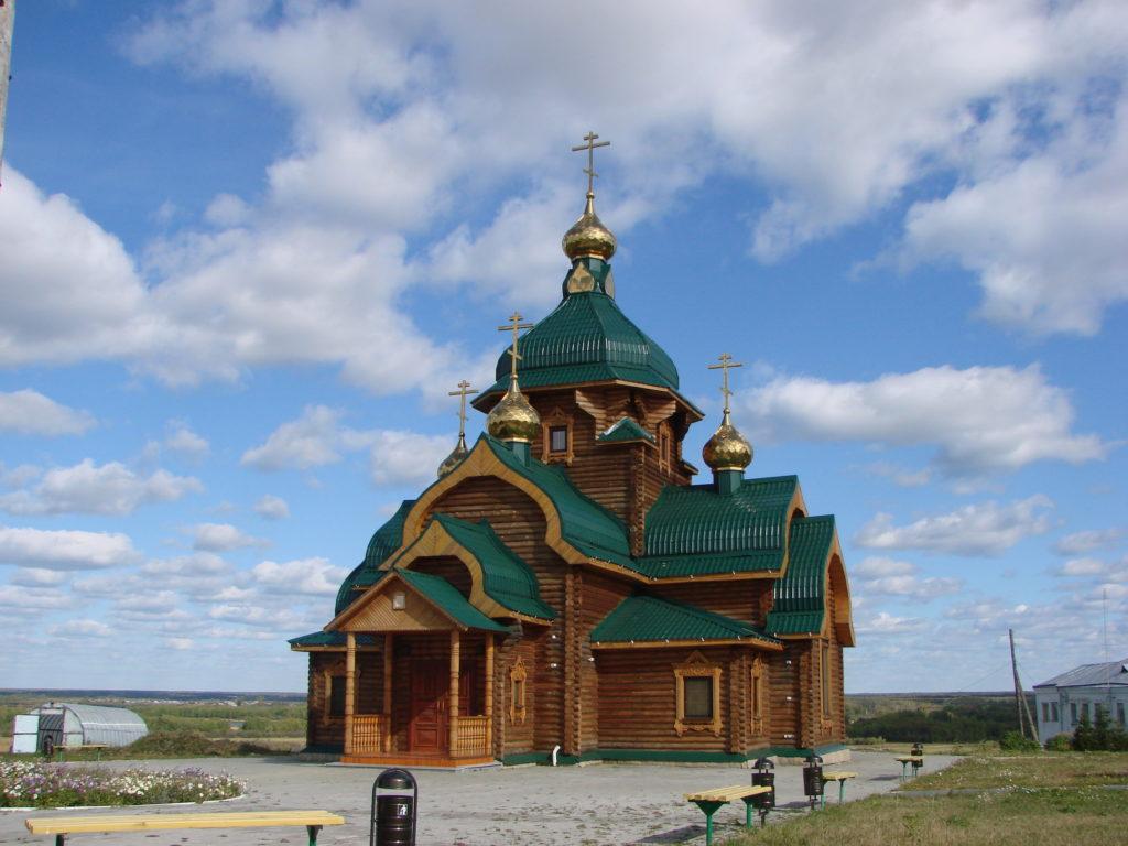 Храм во имя Василиска Сибирского
