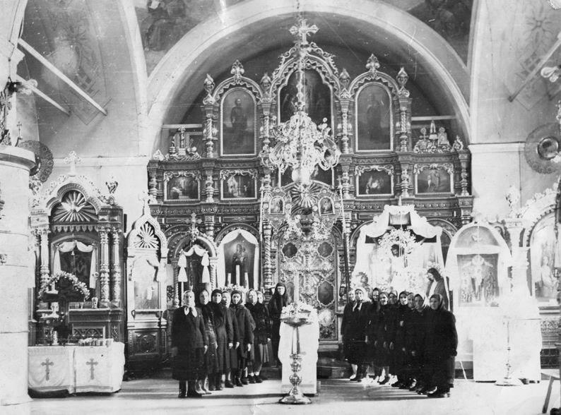 Актив храма в 1960 год
