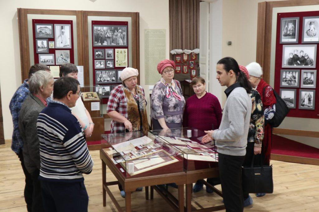 В музее Напольной школы