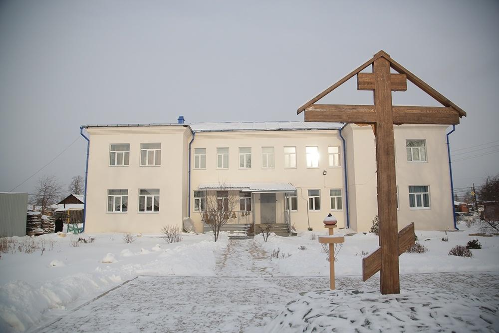 Бывший детский сад, с которого в 1998 году началась история монастыря