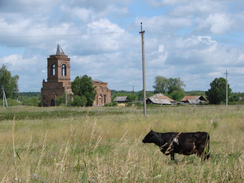 Вознесенский храм в Родниках в наши дни