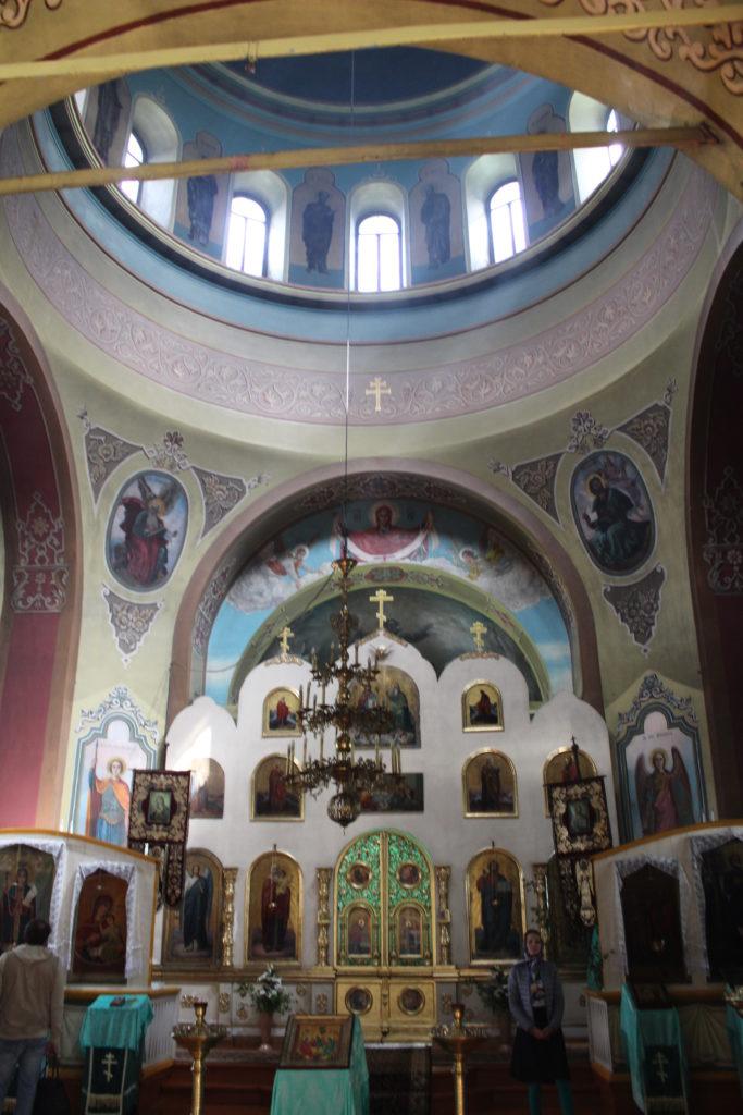 В храме Петра и Павла в Черноисточинске