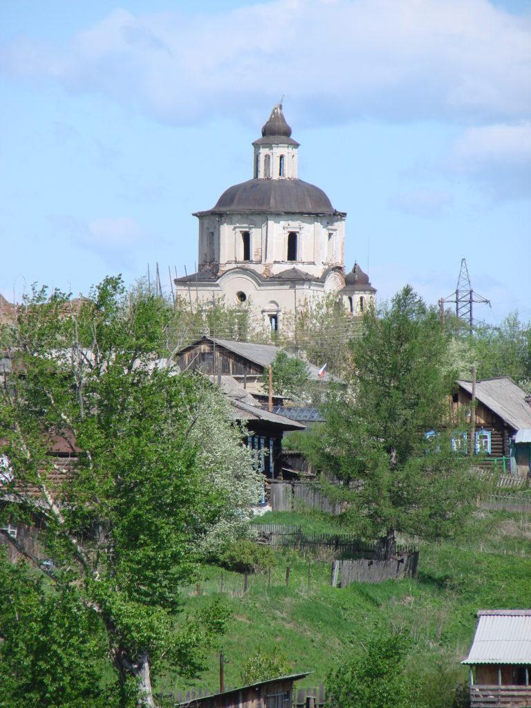 Вознесенская церковь в Коптелово сегодня