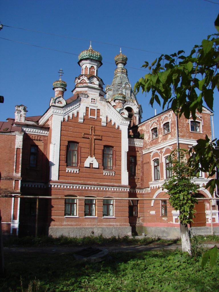 Бывшая Князь-Михайловская церковь при детском приюте в начале XXI века