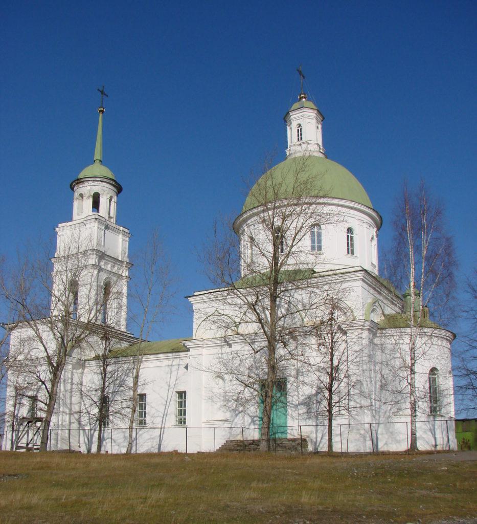 Храм Петра и Павла в Черноисточинске