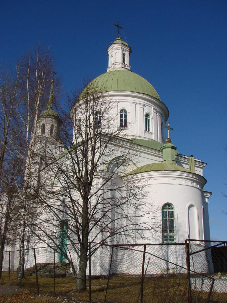 Черноисточинский храм Петра и Павла