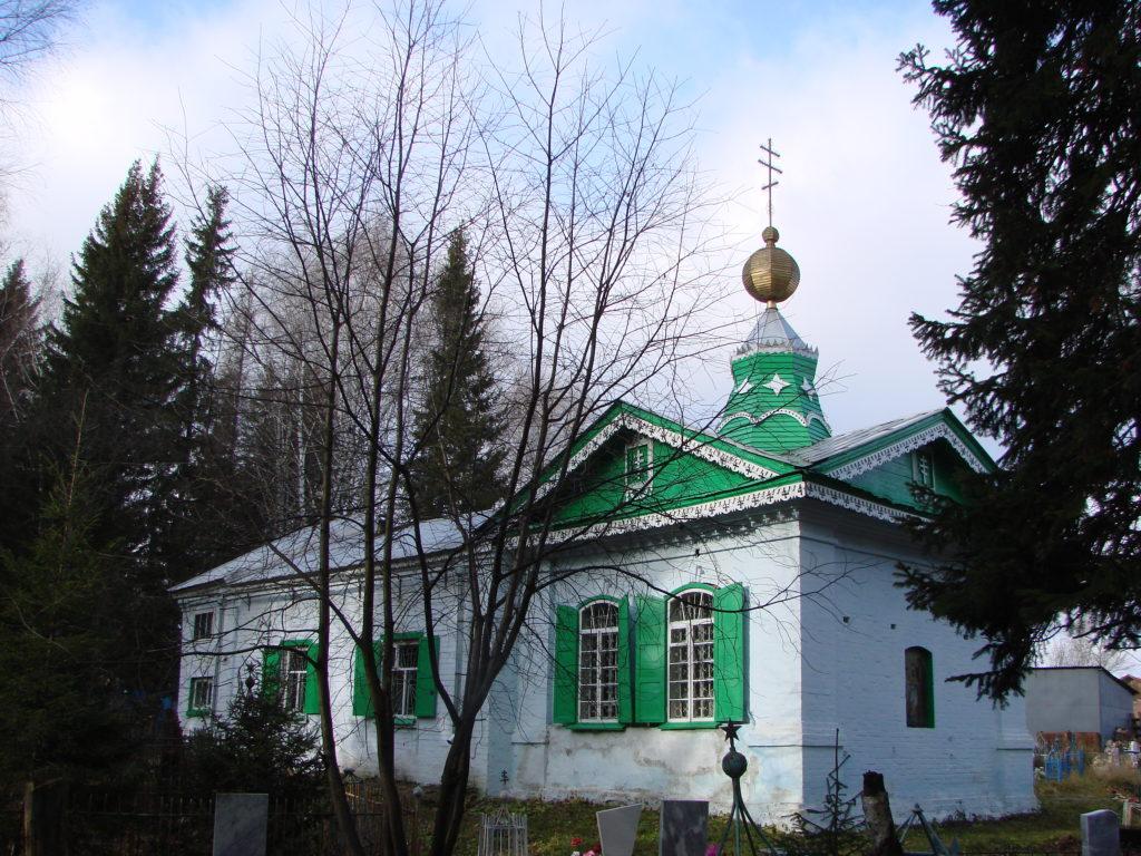 Храм Иоанна Предтечи в Нижних Сергах в начале XXI века