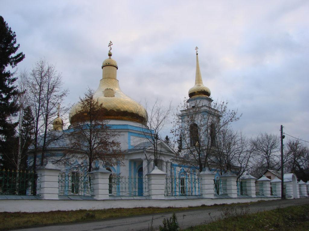 Храм Петра и Павла в Талице