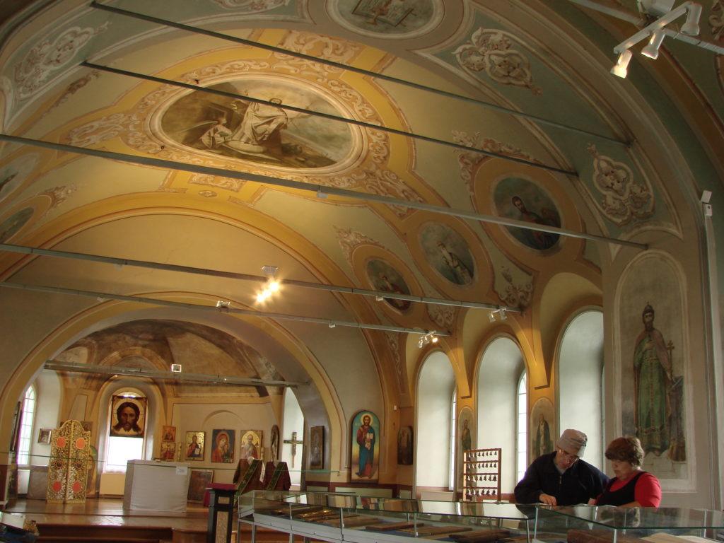 В Спасо-Преображенском храме