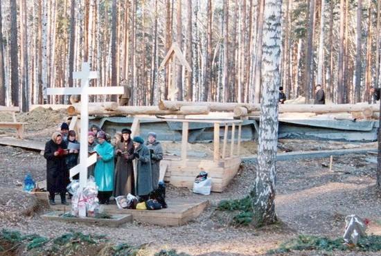 В самом начале строительства монастыря