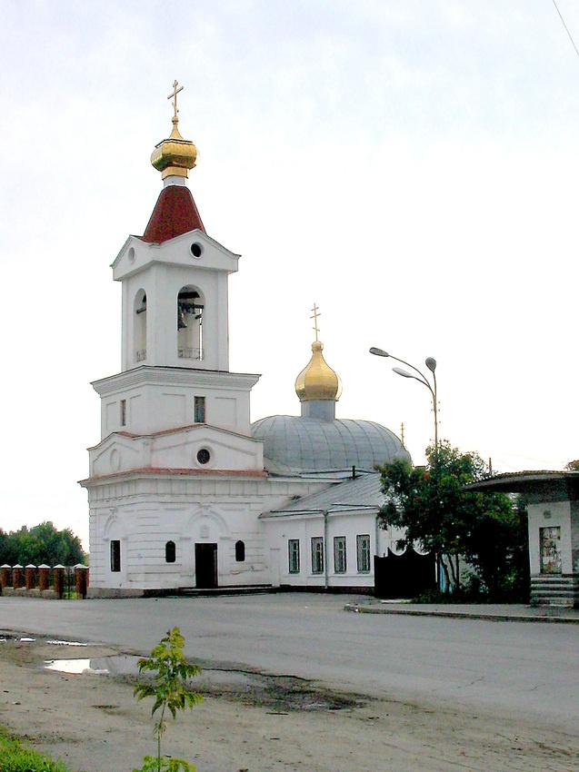 Храм во имя Святой Троицы на Шарташе