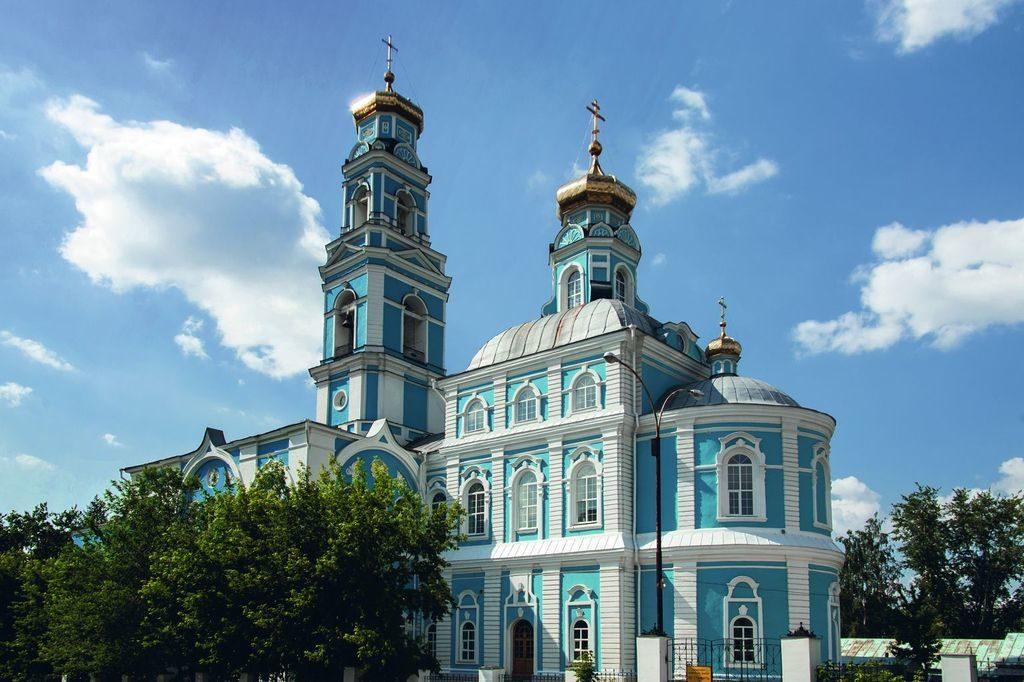 Вознесенская церковь в Екатеринбурге