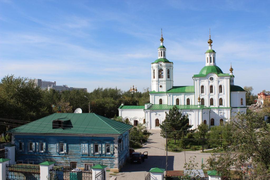 Вознесенская церковь в Тюмени