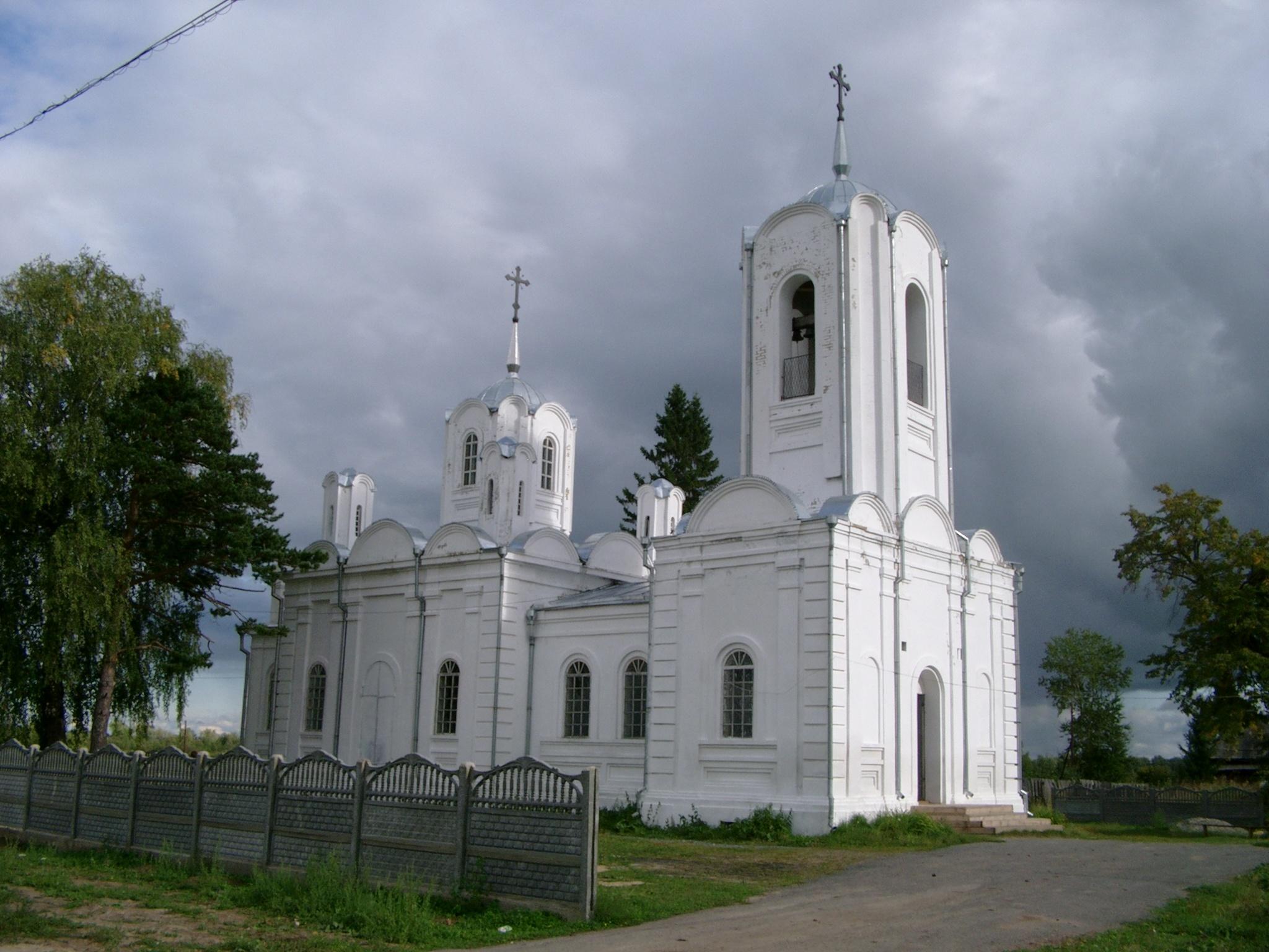 Храм Прокопия Устюжского в селе Кошуки